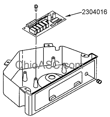 2304016 Ice Machine Electronic Control Board