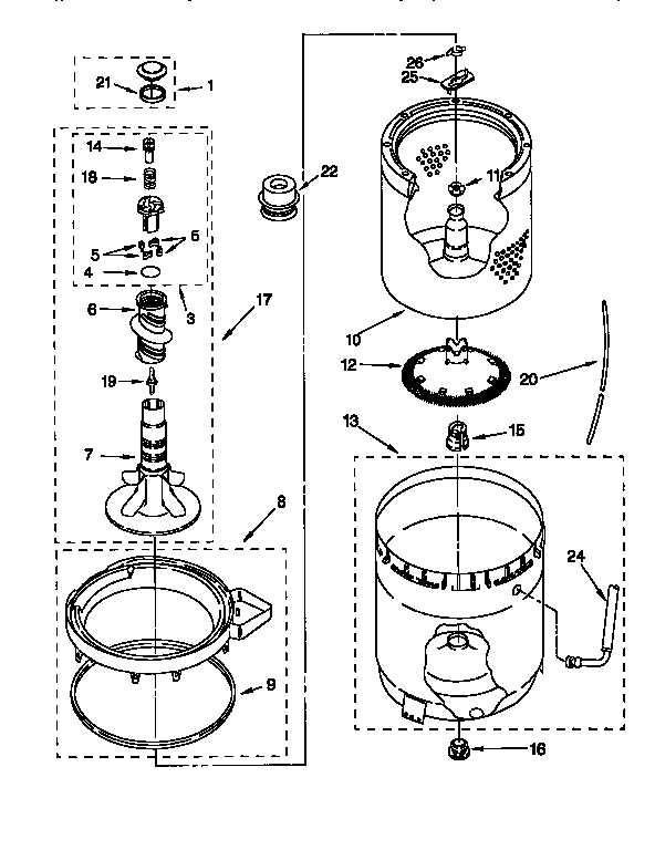 Schematic For Kenmore 80 Series Washer Part, Schematic