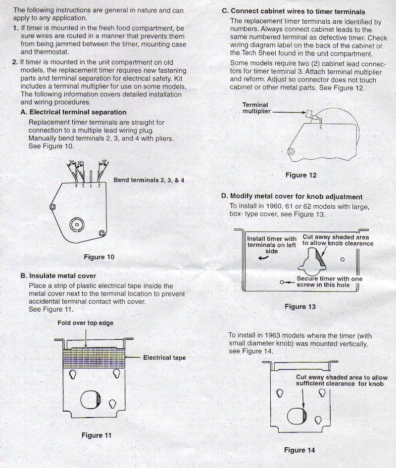 [DIAGRAM] Refrigerator Defrost Timer Wiring Diagram FULL