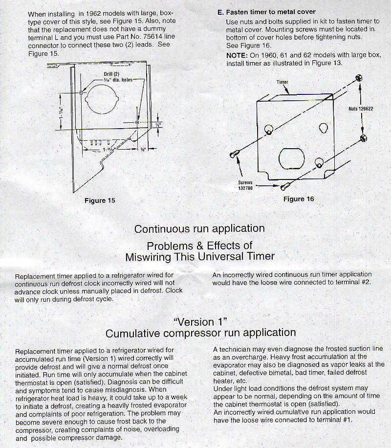 Whirlpool Defrost Timer Wiring Diagram : 38 Wiring Diagram