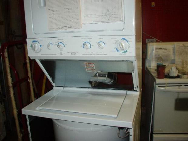 Washer+And+Dryer+Stacked+Unit