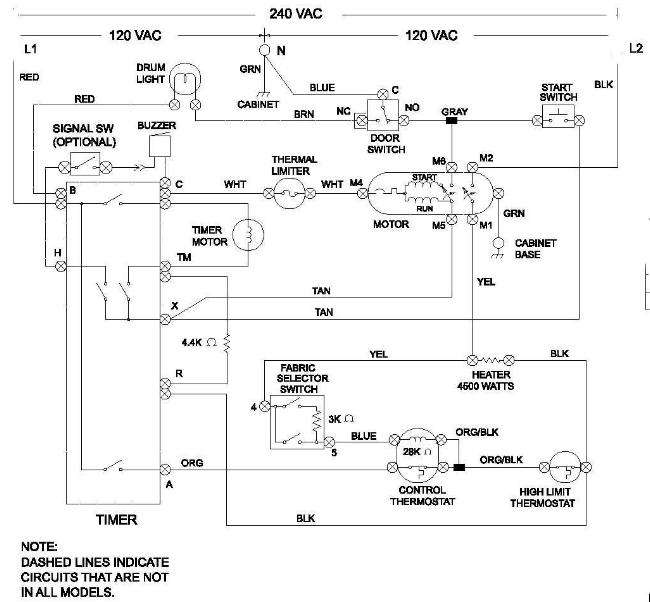 Kenmore Electric Dryer Wiring Diagram Wiring Diagram For Kenmore
