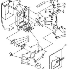 Wiring Diagram For Ge Refrigerator Car Subwoofer Kenmore/whirlpool Ice Dispenser 2 | Appliance Aid