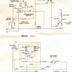 Westinghouse Oven Element Wiring Diagram Ford 3600 Tractor Parts Sample Diagrams Appliance Aid Dryer