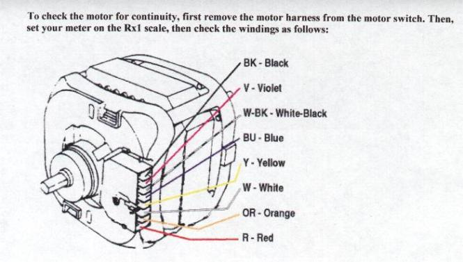 motor capacitor wiring diagram wiring diagram wiring diagrams of fractional horsepower electric motors