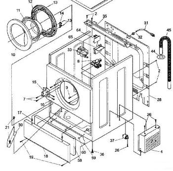 frigidaire front load washer parts diagram ao smith wiring frontload not draining appliance aid