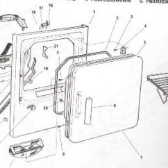 Ge Dryer Door Switch Wiring Diagram Toyota Mr2 3sgte How To Take Apart A Appliance Aid Be Moved Off The Left Side This Is Because Of Wires Remove Drum On Newer Style Once Front And Top Are