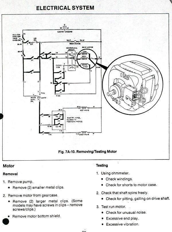 Ge Washing Machine Motor Wiring Diagram