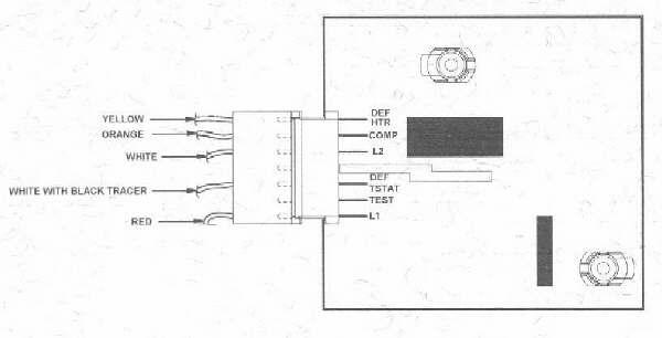 amana fridge wiring diagram boron molecular orbital adaptive defrost information | appliance aid