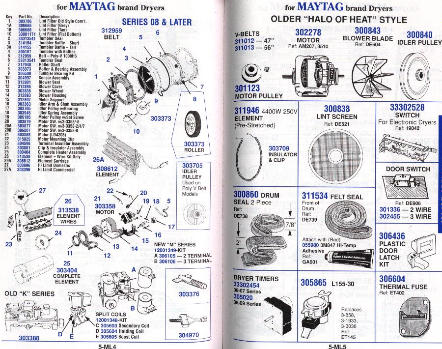 Wiring Diagram For Frigidaire Dryer On Wiring Images Free
