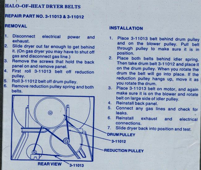 Dryer Belt Tensioner Diagram Maytag Dryer Parts Diagram Kenmore