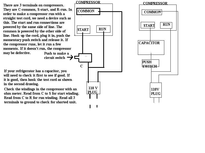 Ge Refrigerators Wiring Diagram Refrigerator Repair Help Appliance Aid