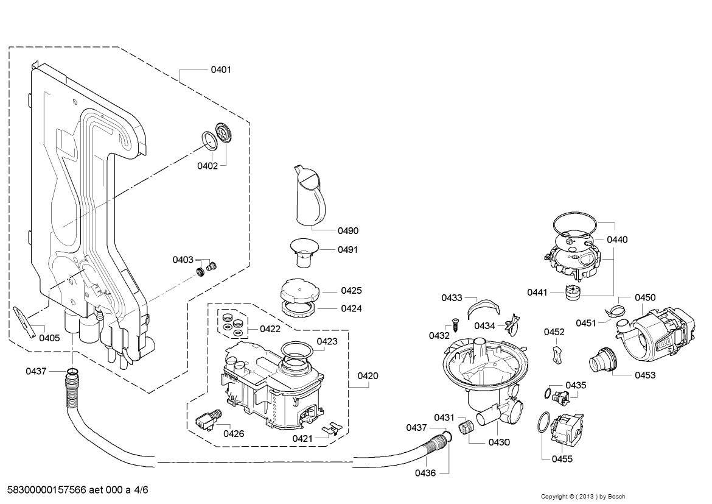 Wiring Database 2020: 27 Bosch Dishwasher Parts Diagram