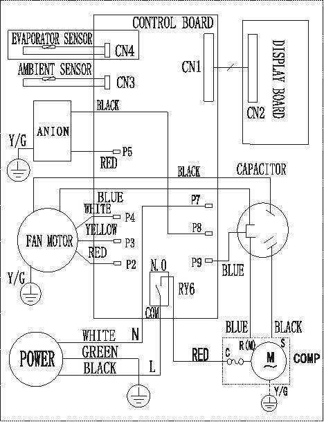 [38+] Window Ac Capacitor Wiring Diagram