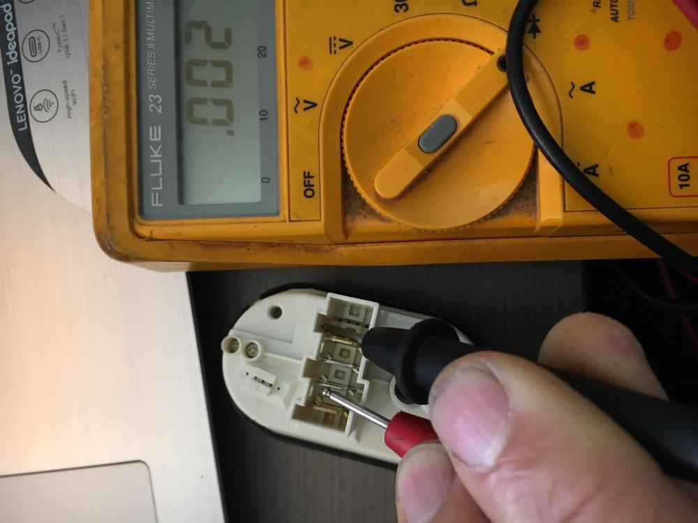 medium resolution of just tried attaching a photo of my pressure switch showing continuity between pins 11 to 14 same as the new one i replaced it with followed the wiring