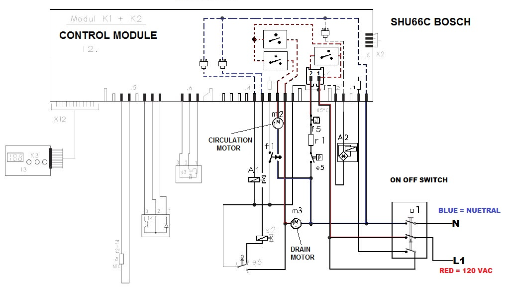 Bosch Dishwasher Motor Wiring Diagram