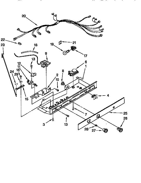 Whirlpool Refrigerator Compressor Relay Wiring Diagram