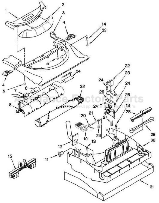 Wiring Diagram For Kenmore Progressive Vacuum
