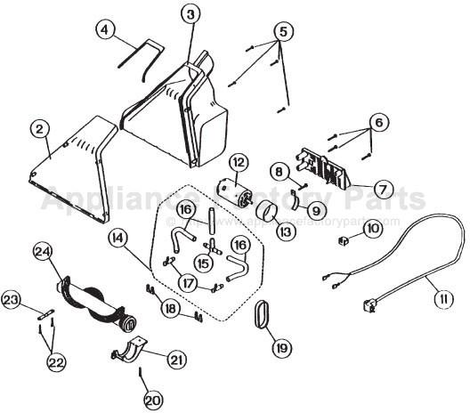 Oreck Vacuum Cleaner Parts Diagram : 34 Wiring Diagram
