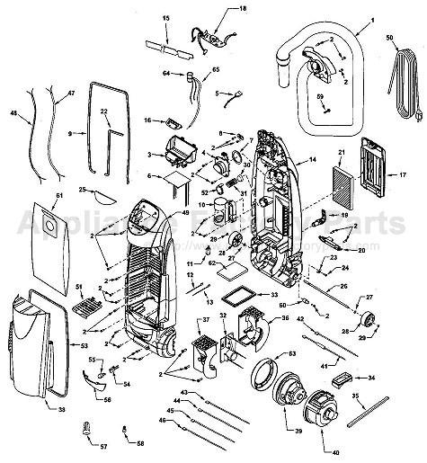 Upright Vacuum: Kenmore Upright Vacuum Model 116 Manual