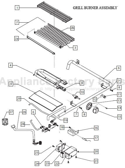 Dcs BGB48-BQARL BBQ Parts