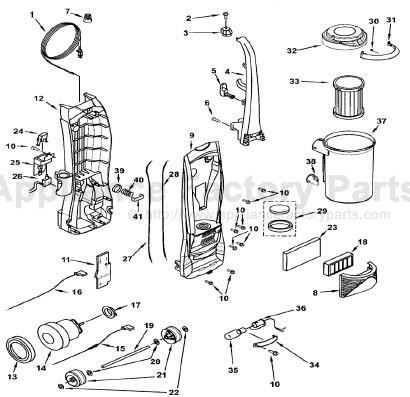 Electrolux Vacuum Diagram Kenmore Vacuum Diagram Wiring