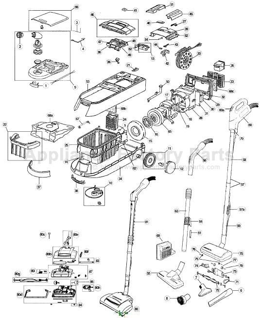 Vacuum Parts: Oreck Vacuum Parts