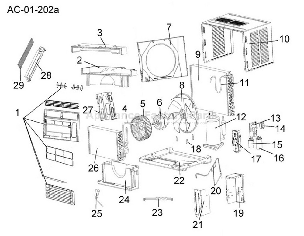 Appliance: Appliance Factory Parts