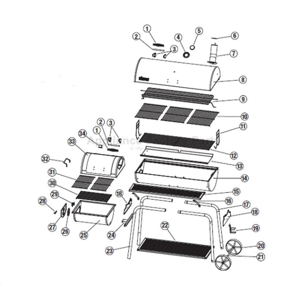 Brinkmann 810-3045-S BBQ Parts