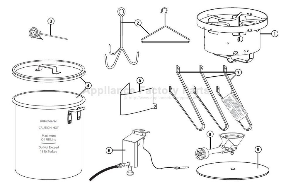 Brinkmann 815-4001-S BBQ Parts
