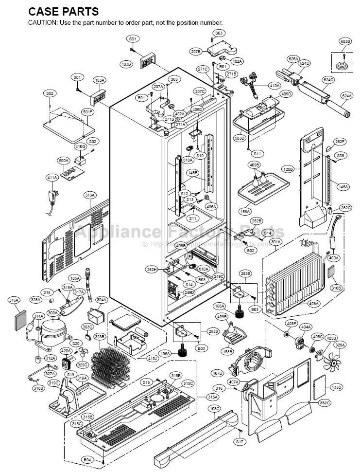 Refrigerators Parts: Refrigerators Parts