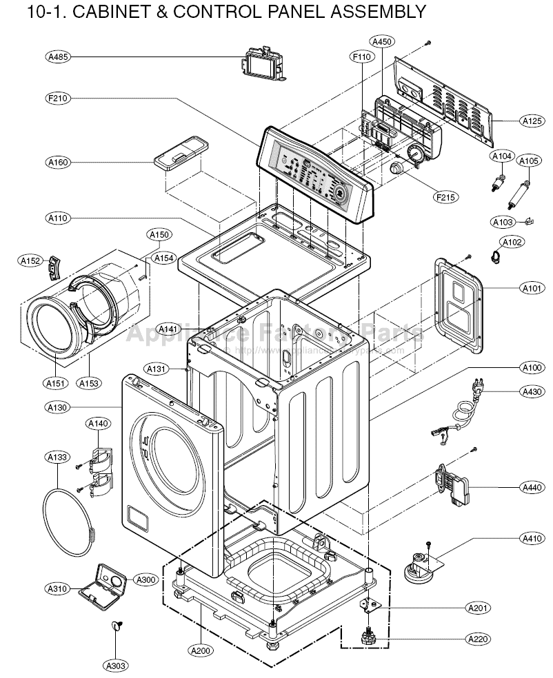 Front Load Washer: Kenmore Front Load Washer Parts Diagram