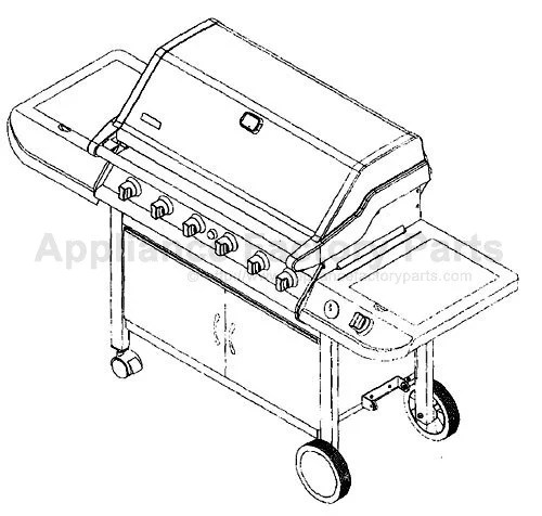 Kenmore 141.168600 BBQ Parts