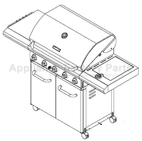 Kenmore 141.163292 BBQ Parts