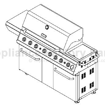 Kenmore 141.16686 BBQ Parts