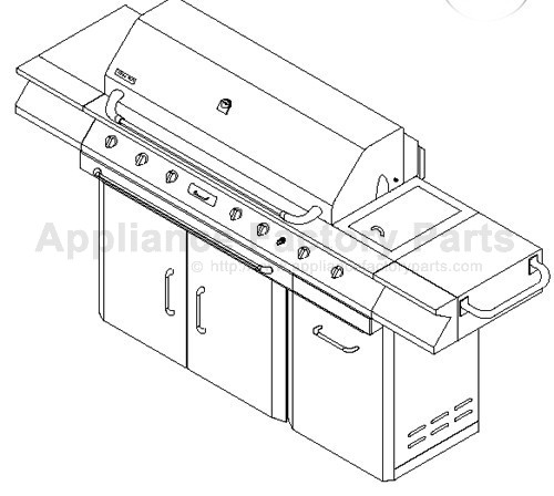 Jenn Air 720-0063-LP BBQ Parts