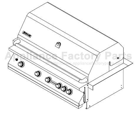 Jenn Air 740-0165 BBQ Parts
