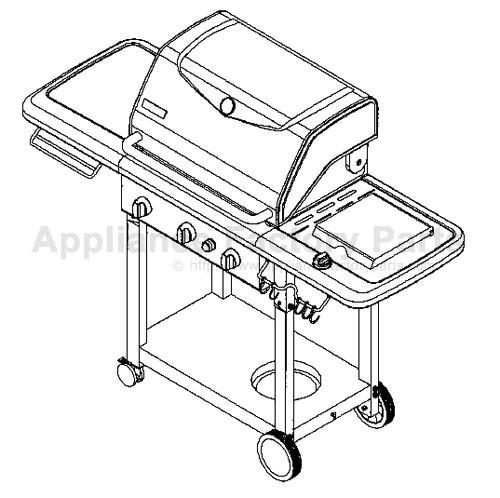Kenmore 141.16233 BBQ Parts