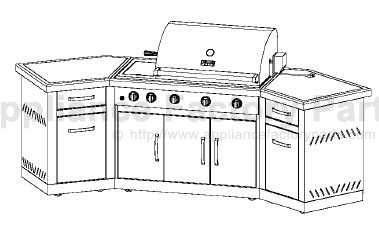 Kenmore 119.166790 BBQ Parts