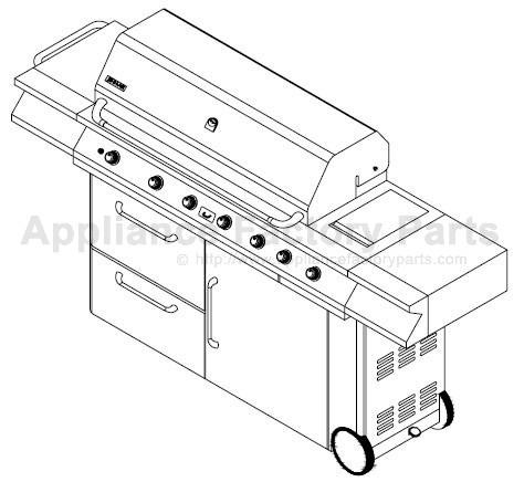 Jenn Air 730-0165 BBQ Parts