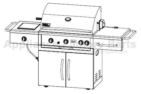 Outdoor Gourmet BQ05037-2 BBQ Parts