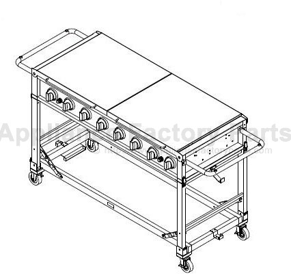 Bakers And Chefs MEV808ALP BBQ Parts