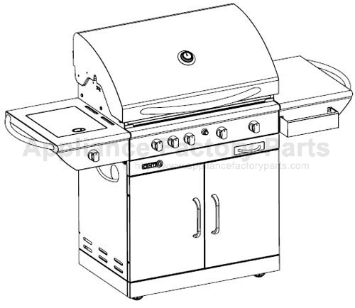 Centro 85-1132-8 (2006) BBQ Parts