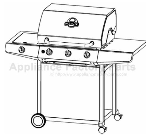 Grillpro 236464 BBQ Parts