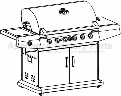 Grillpro 269784 BBQ Parts