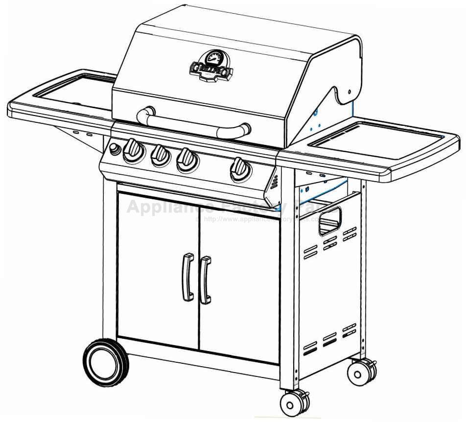 Grillpro 218544 BBQ Parts