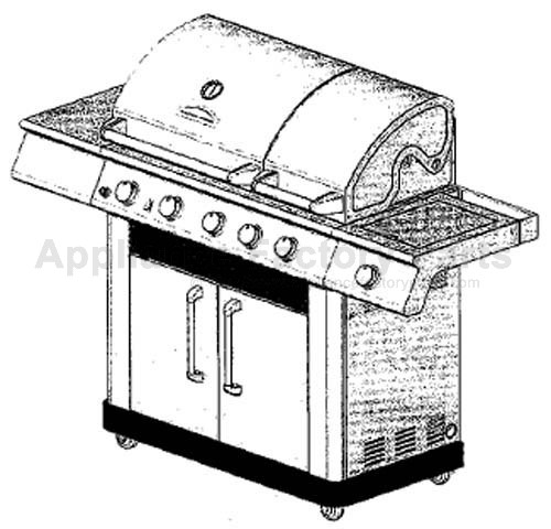 Master Forge E3518-LPG BBQ Parts
