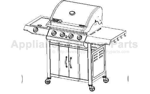 Bbq-pro BQ04023 BBQ Parts