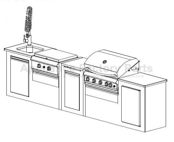 Grand Hall CGI08ALP BBQ Parts