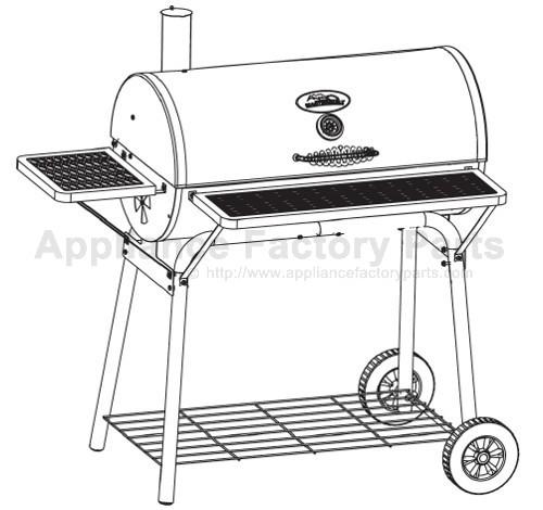 Masterbuilt 10040610 BBQ Parts